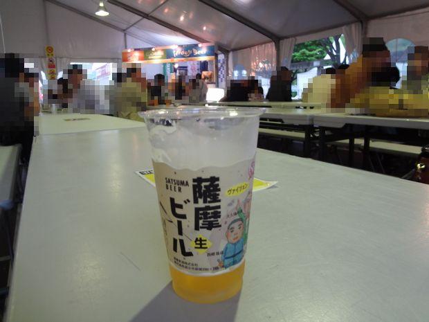 「九州地ビールフェア」(3)飲食ブース