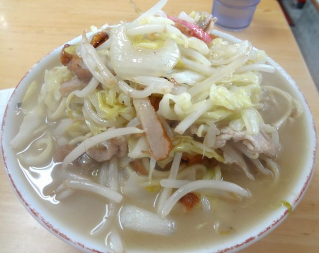 『安全食堂』チャンポン(700円)