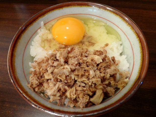 『中華蕎麦 翠蓮』スープごはんセット(150円)