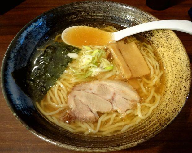 『中華蕎麦 翠蓮』醬油らーめん(580円)