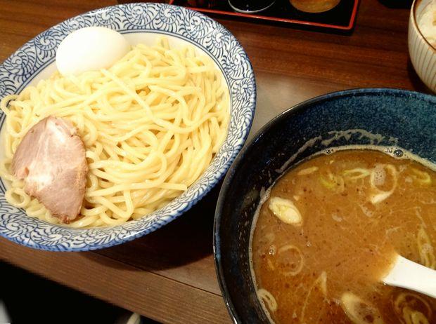 『中華蕎麦 翠蓮』味玉つけめん(850円)