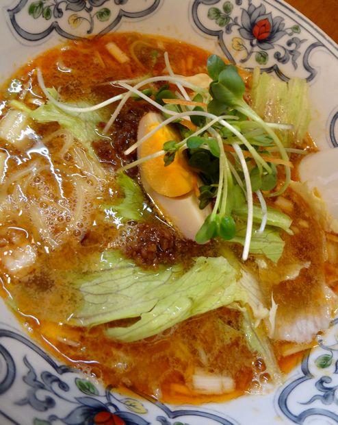 『中華屋台 潤』担々麺(アップ)
