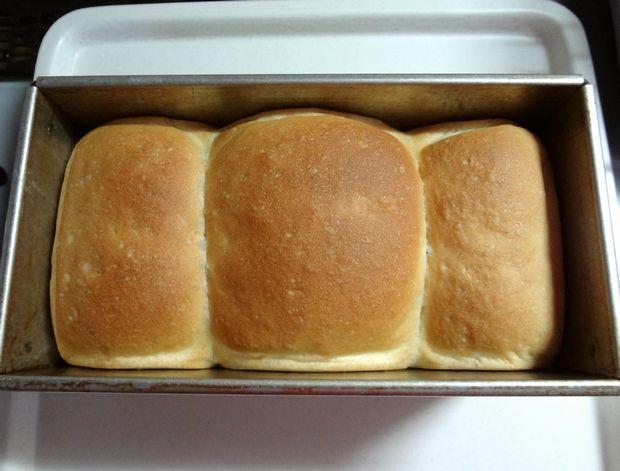 食パン作り(焼き上がり直後)