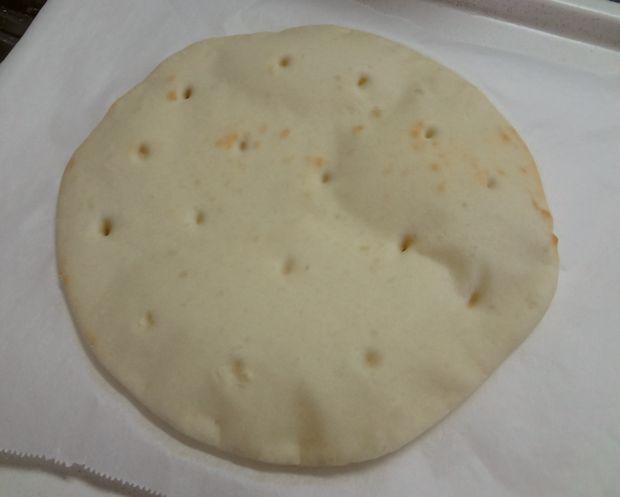 手作りピザ・2(素焼き後の生地)