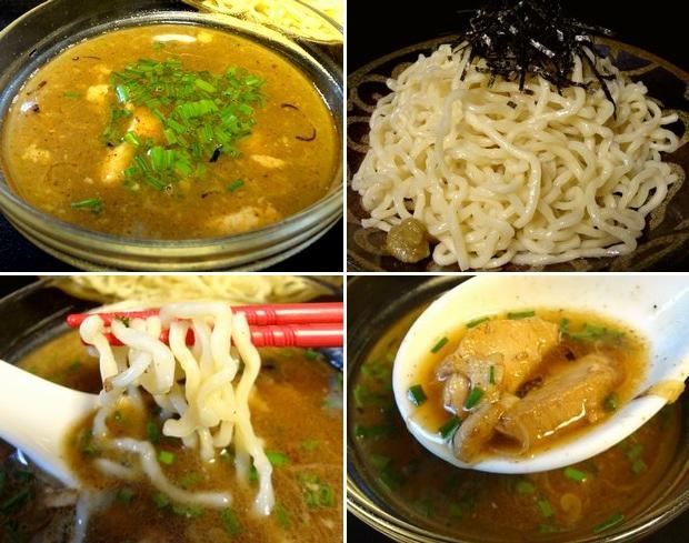 『らーめんふぁくとりー のすけ』つけのすけ・黒(通販商品、調理したスープと麺)