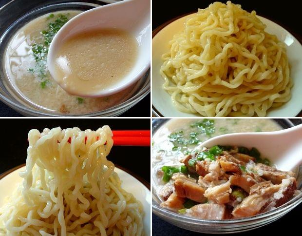 『らーめんふぁくとりー のすけ』つけのすけ・白(通販商品、調理したスープと麺)