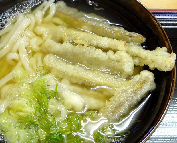 『麺や よし田』ごぼう天うどん(ごぼう天アップ)