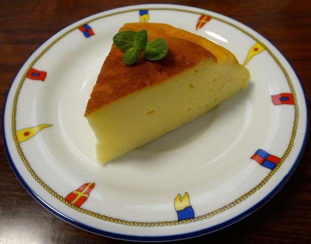 炊飯器 de チーズケーキ(カットしたチーズケーキ)