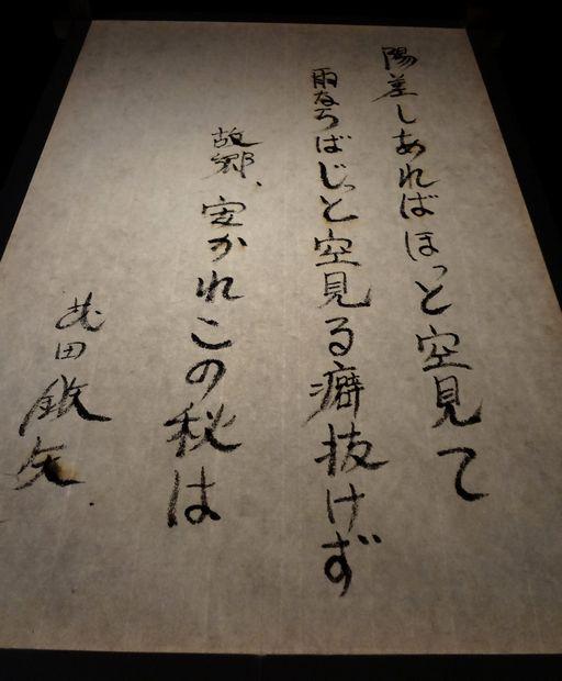 放生会・2012年(ぼんぼり献灯・武田 鉄矢筆)
