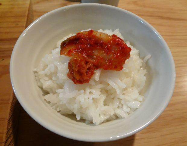 『博多炊き餃子 池ぽん』ランチの「池ちゃんぽん」に付く「ご飯」