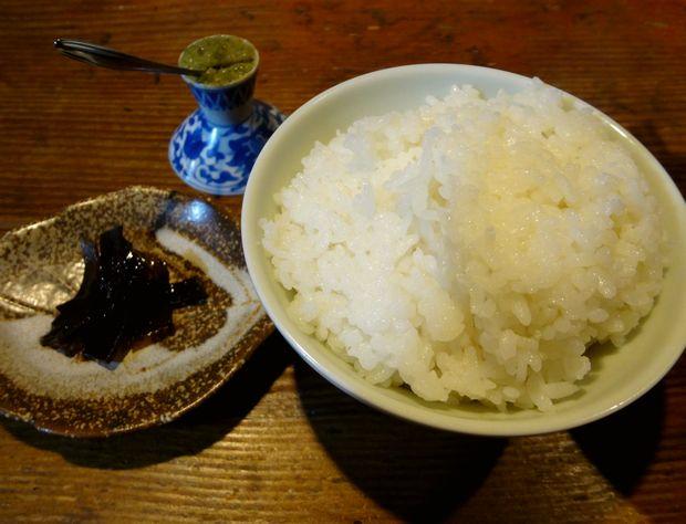 『うどん屋 米ちゃん』チキン南蛮とうどんのセットB(セットのご飯中・佃煮と、柚子胡椒)