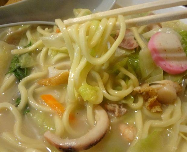 『元祖ぴかいち』チャンポン(麺リフト)