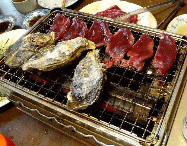 『笹丘三丁目食堂』(2012年11月)恵比寿カキと鹿肉