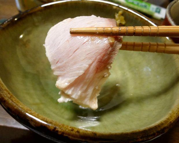 『笹丘三丁目食堂』(2012年11月)しゃぶしゃぶした鰤
