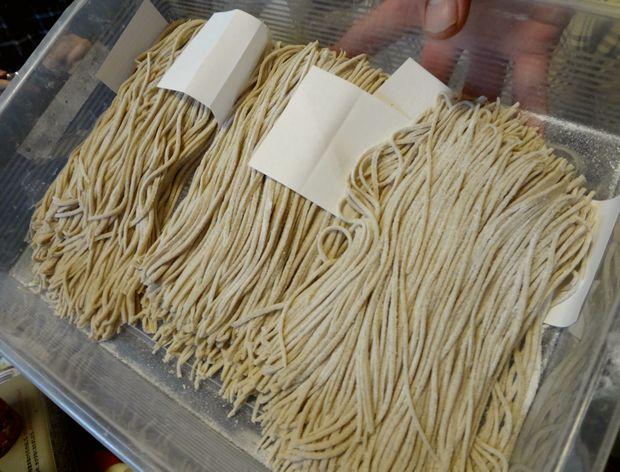 『笹丘三丁目食堂』(2012年11月)手打ち蕎麦