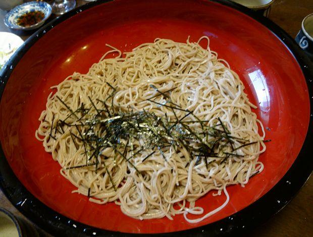 『笹丘三丁目食堂』(2012年11月)手打ち蕎麦のざる