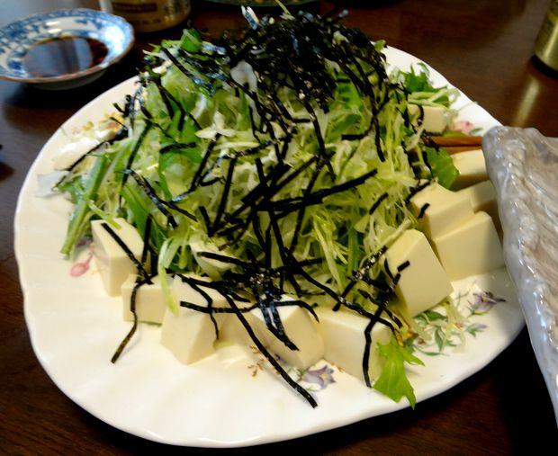 『笹丘三丁目食堂』(2012年11月)豆腐サラダ