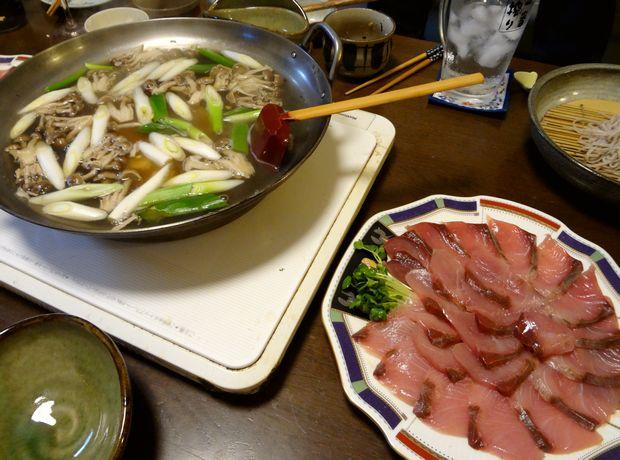 『笹丘三丁目食堂』(2012年11月)鰤しゃぶ
