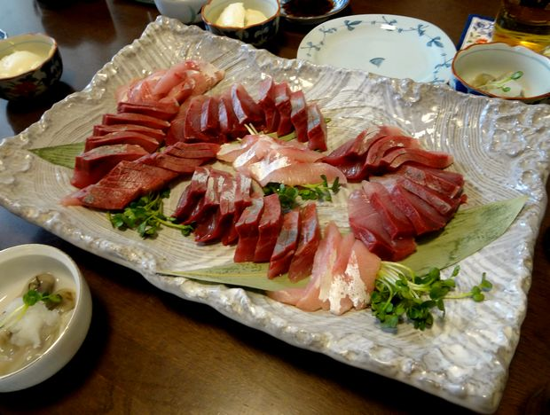 『笹丘三丁目食堂』(2012年11月)鰤刺