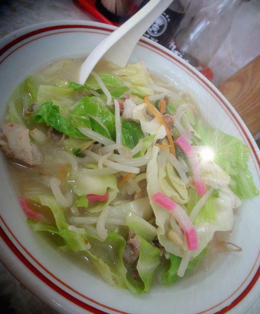 『中華料理 味華』チャンポン(アップ)