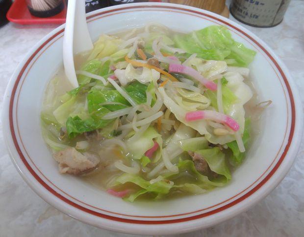 『中華料理 味華』チャンポン(500円)