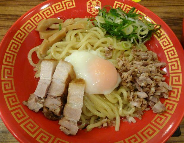 『麺研究所 麺屋慶史』慶史油そば(油そばアップ)
