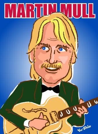Martin Mull caricature