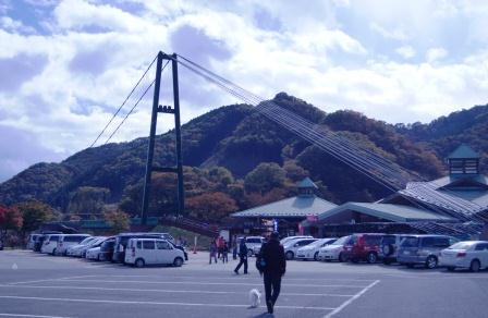 もみじ谷大吊橋②