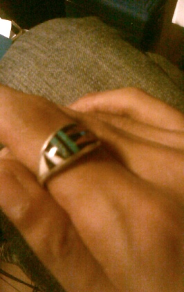 指輪_ターコイズ02