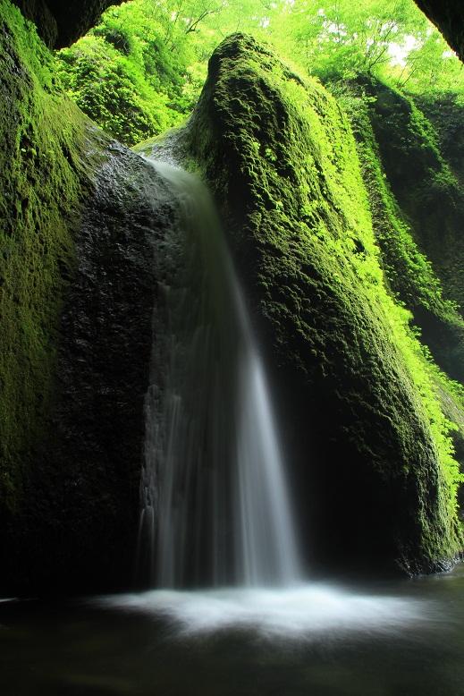 シワガラの滝、10