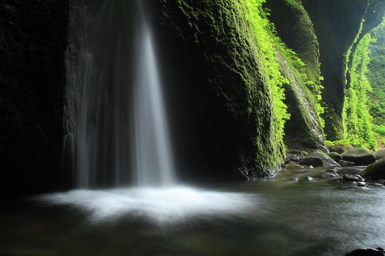 シワガラの滝、13