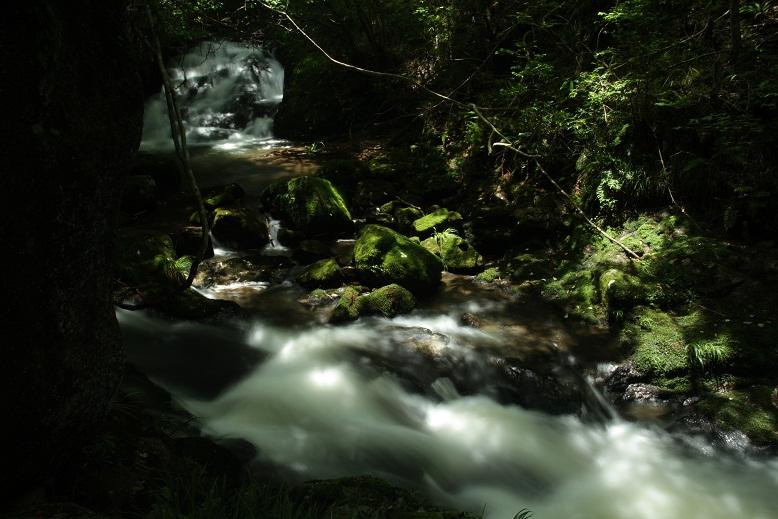 鶏鳴の滝、2