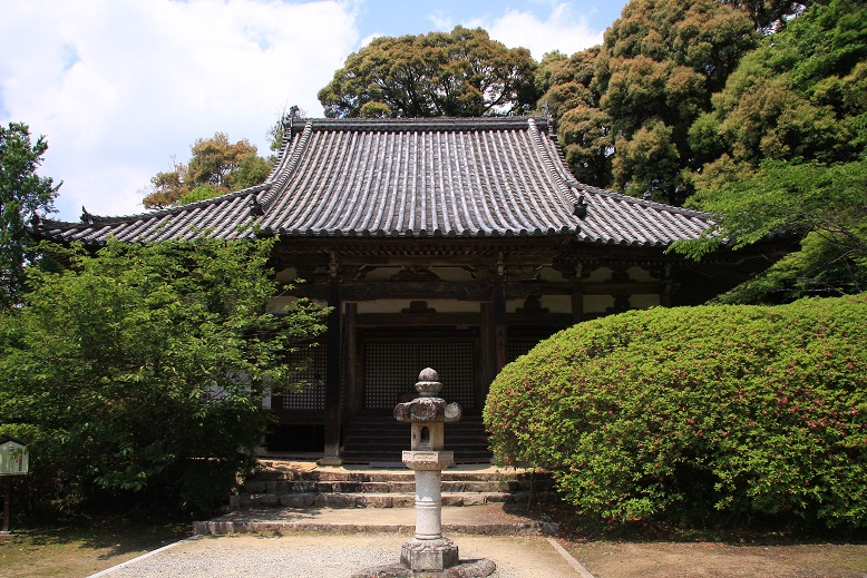 長岳寺、4