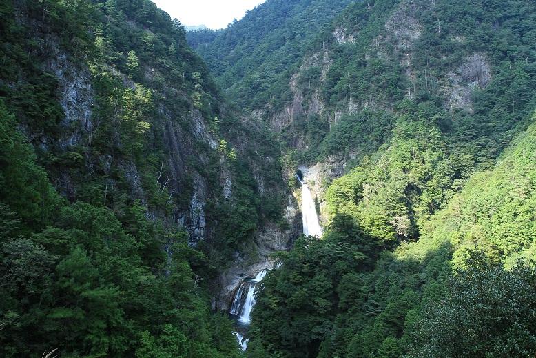 不動七重の滝、2