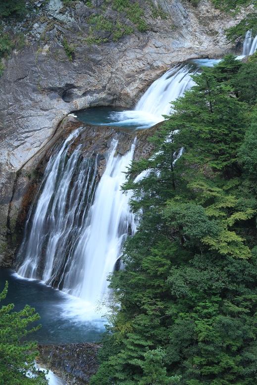 不動七重の滝、4