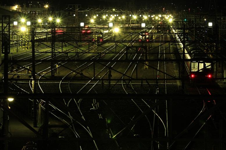 旧高槻電車区、2