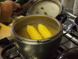 トウモロコシいり玄米ご飯