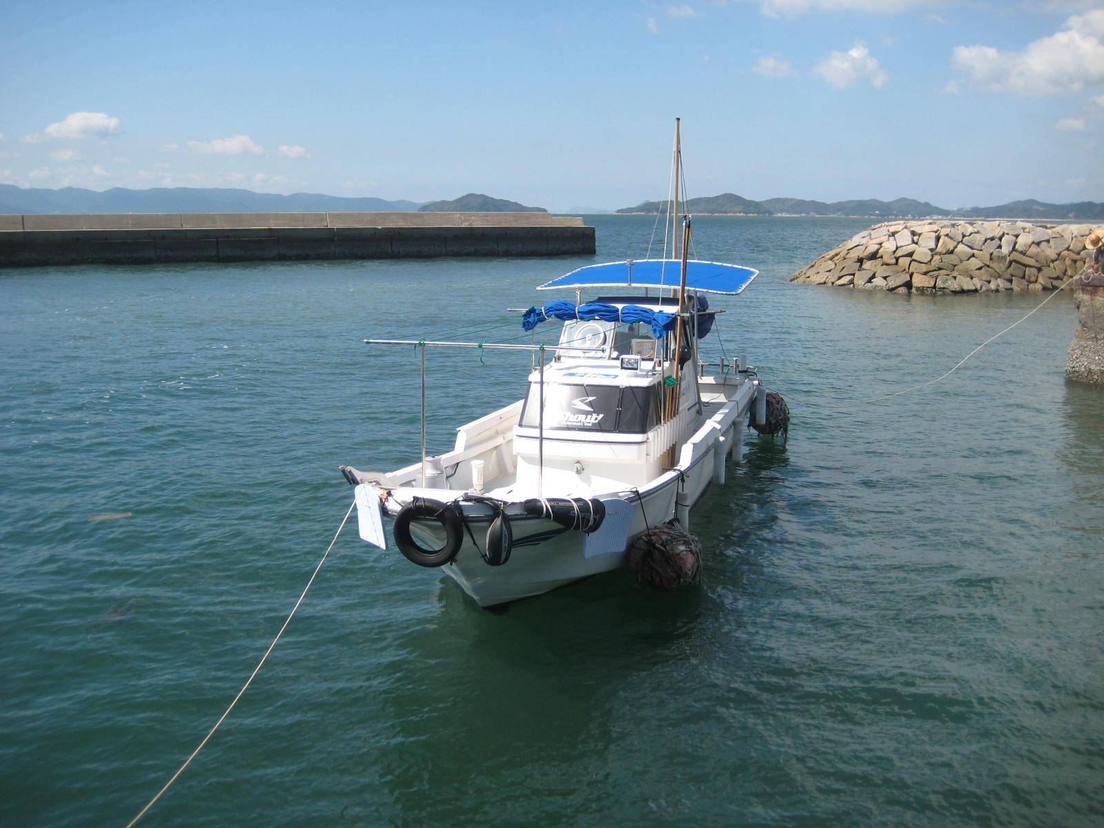 田尾さんの船