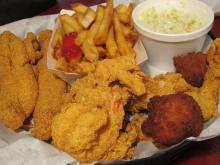 ホットスプリングスで食事-2, 2013-03-26