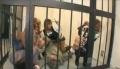 黒ギャル4人組に拘束され手コキフェラされ爆射!