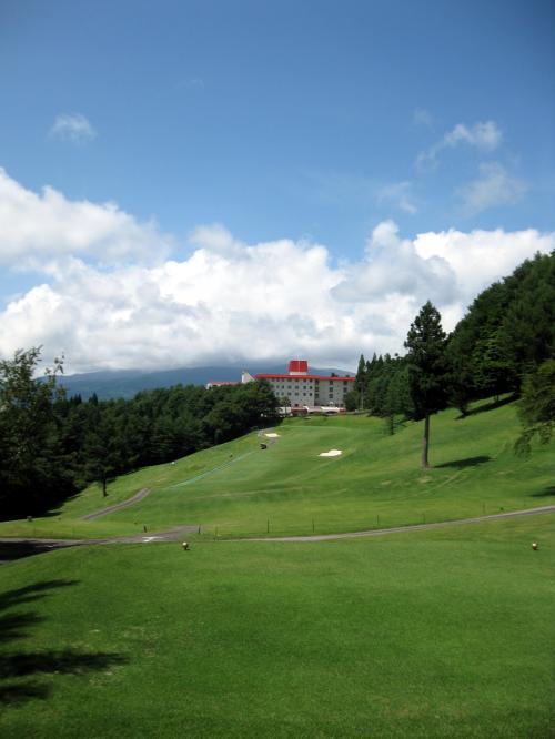 鷲ケ岳高原ゴルフ倶楽部1