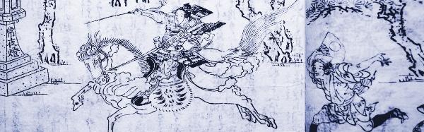 「都名所図会」より藤森神社競馬