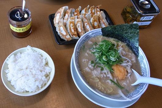 120514丸源煮干醤油ラーメン
