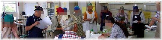 120526男の料理教室の様子