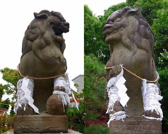 120612和田神社狛犬