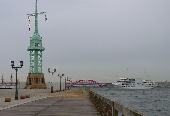 120612ハーバーウォクと旧神戸港信号所