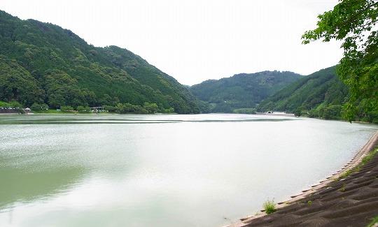 120711船明ダム湖-1