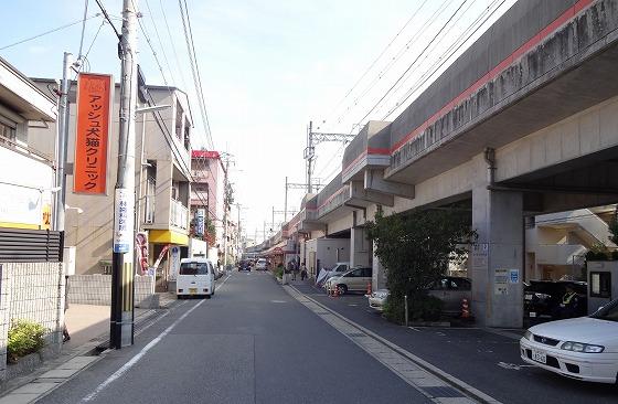 121108阪急高架脇