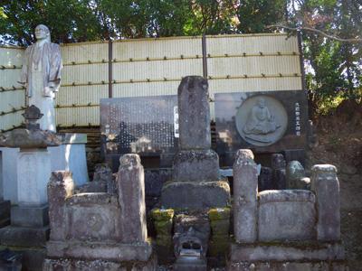 大前田栄五郎親分の墓