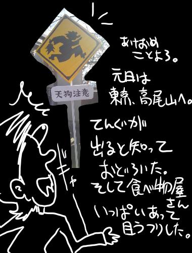 絵日記2013年01日02日